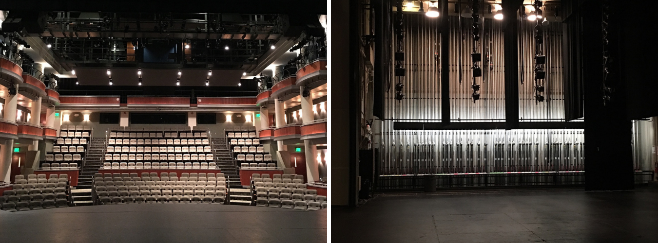 belk theatre stage views