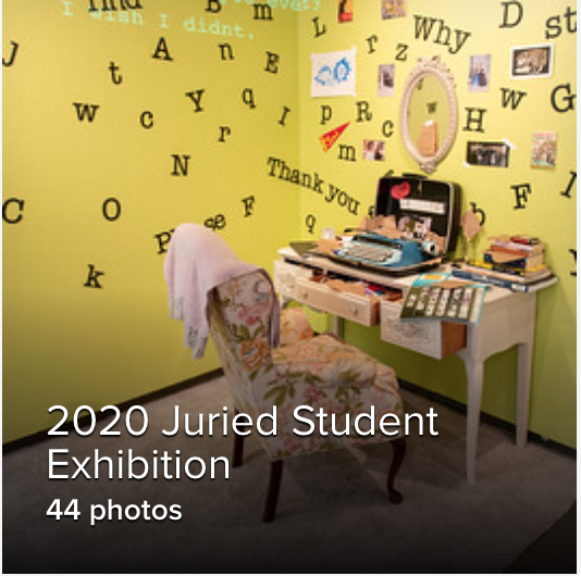 Juried Student Exhibition Reception