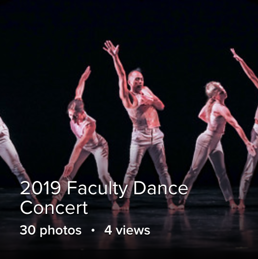 Faculty Dance Concert on Flikr