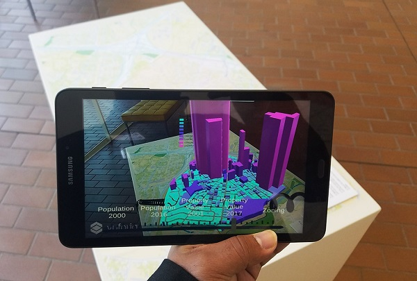 Augmented reality demonstration