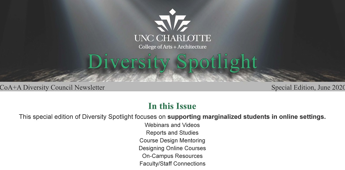 Diversity Newsletter June 2020