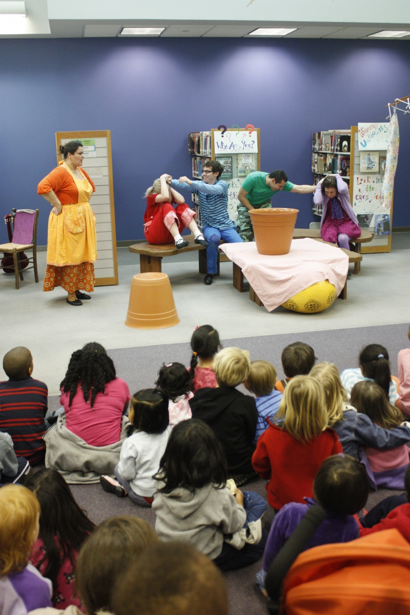 performance of Mama Goose at University City Library