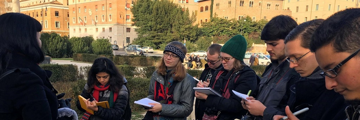 drawing in Rome