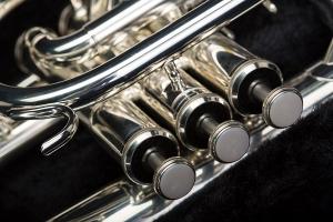 detail of trumpet