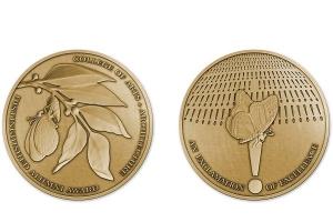 Alumni Award medal