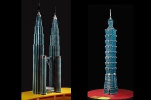 Lego skyscrapers
