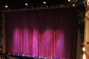 Robinson Hall curtain