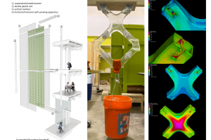 images of microalgae facade research