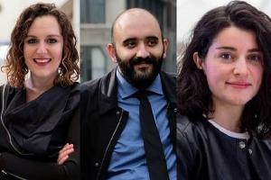 Rachel Dickey, Ali  Karduni, and Noushin Radnia