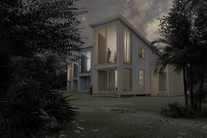 rendering of Bahamas house