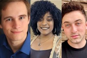 Drew Coley, Migdalia Ramirez, and Sam Pomerantz
