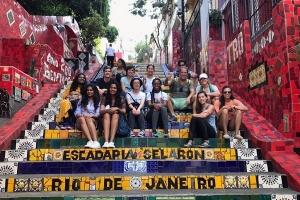 students in Rio de Janeiro