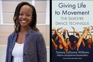 Tamara Williams and book cover