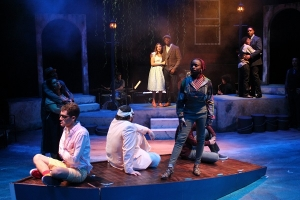 scene from production of Twelfth Night
