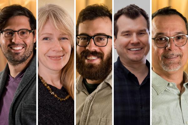 Alex Cabral, Heather Freeman, Robby Sachs, Tom Schmidt, Jose Gamez