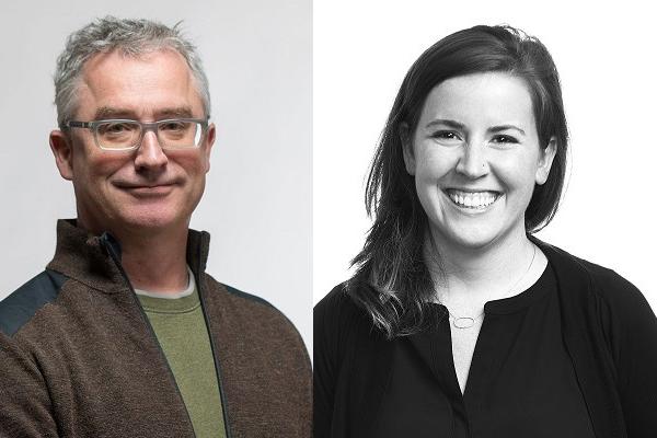 Brook Muller and Liz McCormick
