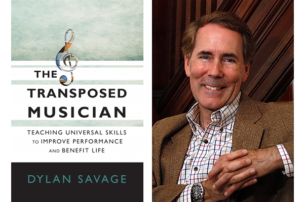 Dylan Savage and his book, The Transposed Musician