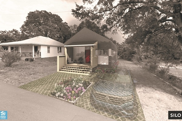 Habitat house rendering