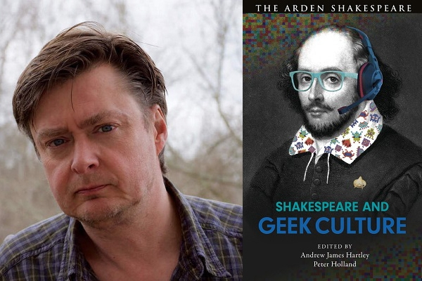 Andrew Hartley and book cover