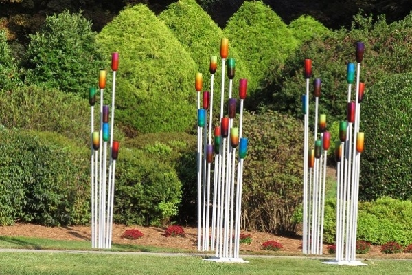 outdoor sculpture by Keith Bryant