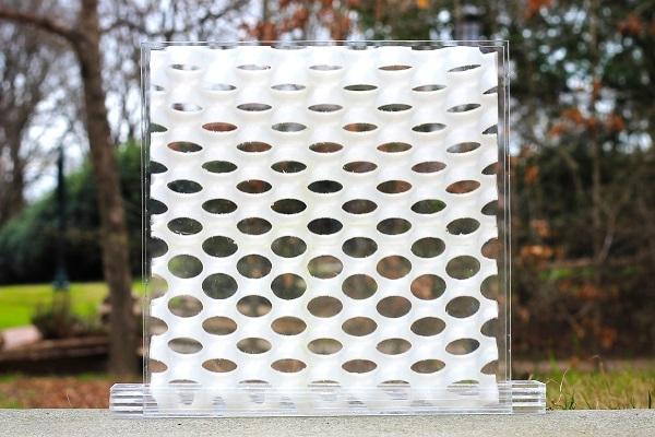 solar window prototype