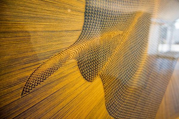 detail of work by Alyson Shotz